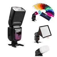 Godox Ving V860II V860II-C/N/S E-TTL HSS 1/8000 Sem VB18 Bateria Speedlite Flash para Canon Nikon Sony olympus Panasonic Fuji
