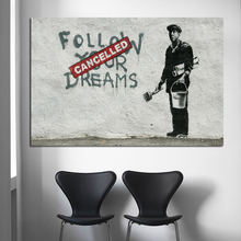 Classic Street Art Wall Painting Pictures Wall Poster Modern Style Canvas Print Painting Art Aisle Living Room Unique Decoration classic lion series paintings 5 piece large canvas print wall art modular painting on decoration pictures zt 3 60