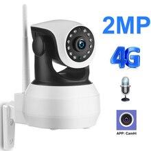 Wifi 카메라 4G 3G Sim 카드 1080P 720P HD 네트워크 비디오 무선 IP 카메라 GSM 보안 아기 감시 카메라 APP 제어