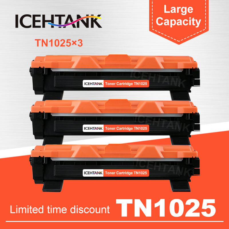 4 PACK TN1060 Compatible Toner Cartridge For Brother HL-1110 MFC-1810 DCP-1510