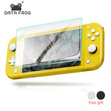 Data Frog Tempered Glass Screen Protector For Nintendo Switch Lite Full HD Ultra Glass Screen Protective NS Anti-blue Light