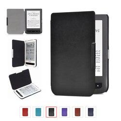 Высококачественный кожаный чехол для Pocketbook basic touch lux 2 614/624/626/640 touch lux 3 pocketbook e-reader