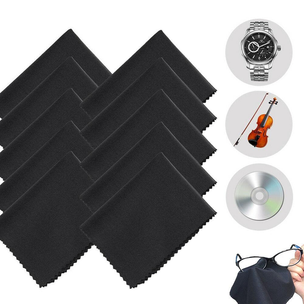 10 шт./упаковка, салфетка из микрофибры для чистки объективов камер очков ТВ телефонов ЖК-экранов