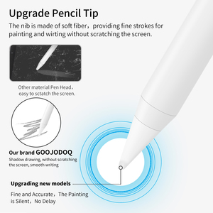 Image 5 - For Apple iPad Pencil Palm Rejection Active Stylus Pen for Apple Pencil 2 iPad 2018 and 2019 6th 7th Gen/ Pro 3rd Gen/ Mini 5th