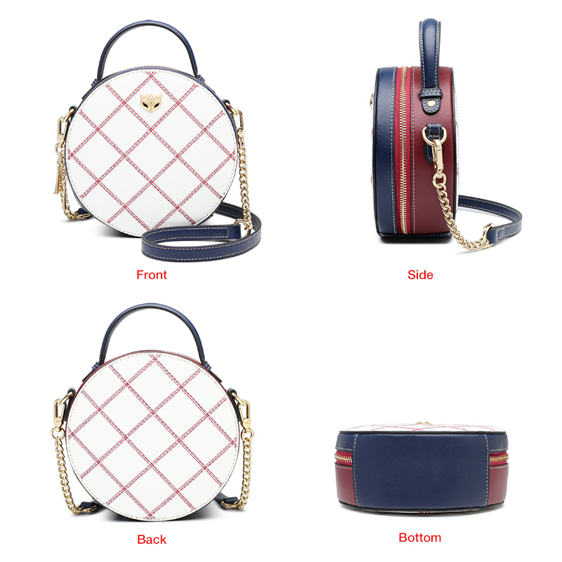 Foxer Ciry Women Leather Crossbody Bags