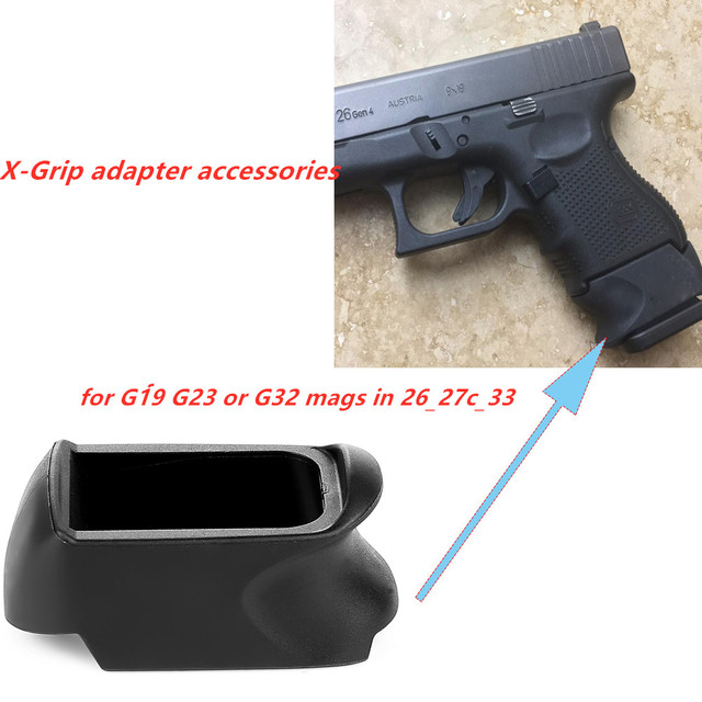 Tactical Grip Glove Slip Sleeve For GLOCK 29-30 Fits G20 G21 Mags use in G29 G30
