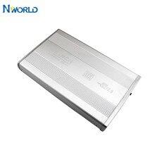 Nworld gabinete de disco rígido usb 3.5, gabinete de disco rígido externo de alta velocidade, 2.0 polegadas, sata hdd