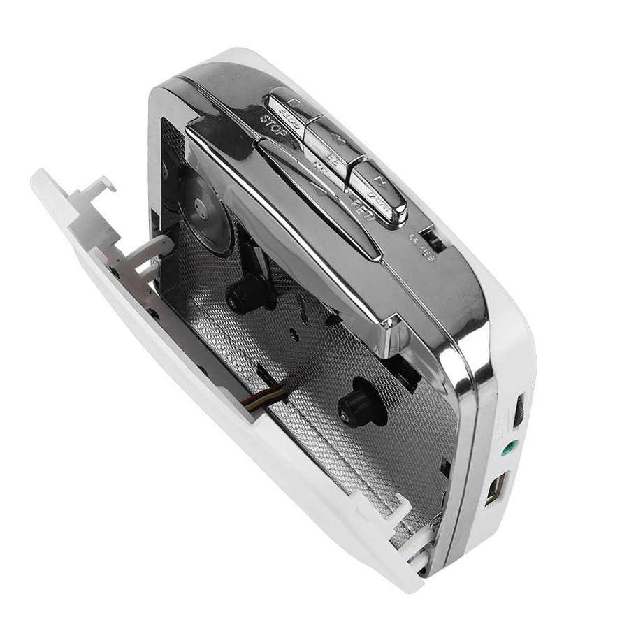 Cassette player Portable Cassette Tape to MP3 Converter USB Flash Drive Capture Audio Music Player Recorder 6