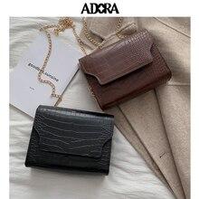 купить Stone Pattern Crossbody Bags For Women 2019 Small Pu Leather Purses and Handbags New Designer Ladies Shoulder Messenger Bag дешево