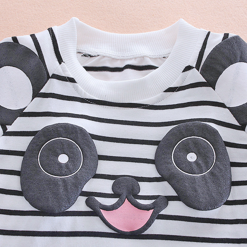 2020 Long Sleeve SUMMER Children Clothing Baby Girls T-shirt+Jeans Outfit Kids Clothes Girls Sport Suits For Girls Sets 1-4 Year 3