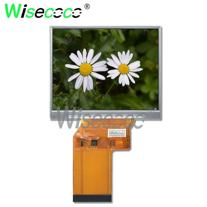 wisecoco original new 3.5 inch <font><b>640x480</b></font> TFT <font><b>LCD</b></font> screen for handheld and PDA digital vedio camera JT035IPS02-V0 image