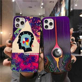 Psychedelic Tame Impala Phone Case for iphone 12 pro max 11 pro XS MAX 8 7 6 6S Plus X 5S SE 2020 XR case image