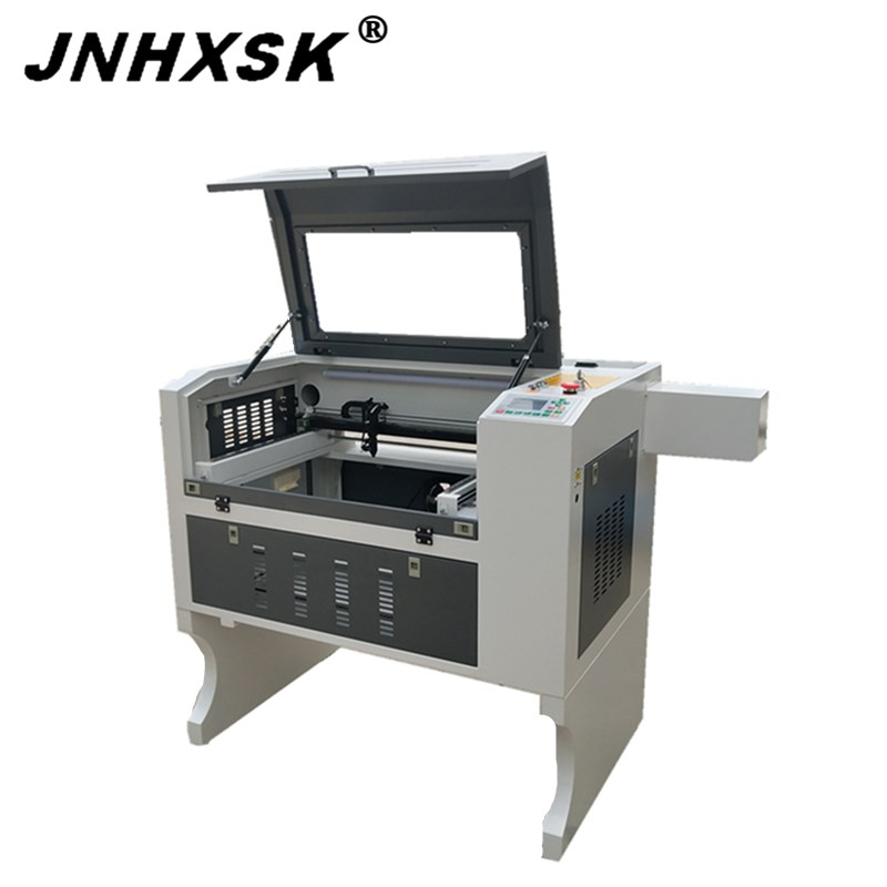 Desktop Mini Laser Engraving Machine Cnc Router 400x600 6040 Paper Stone MDF Acrylic Plywood With Rotary Axis Ruida System