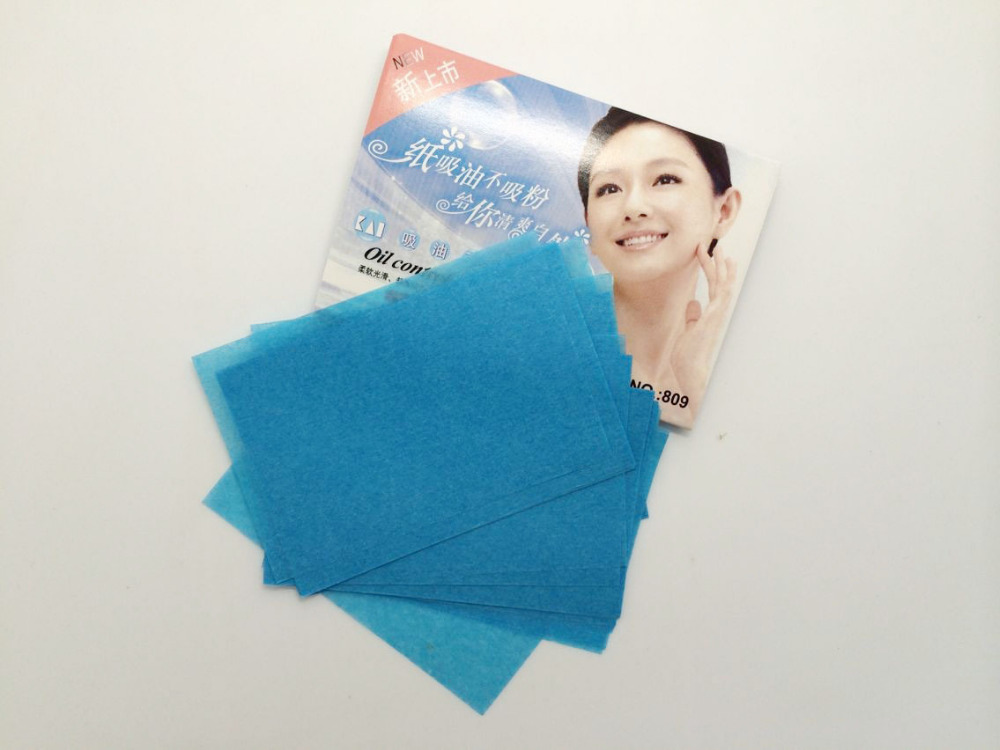 50 Pcs/ Bag Oil Control Tissue Makeup Blotting Paper Oil Removal Paper Absorbing Facial Oil Remover Best Price