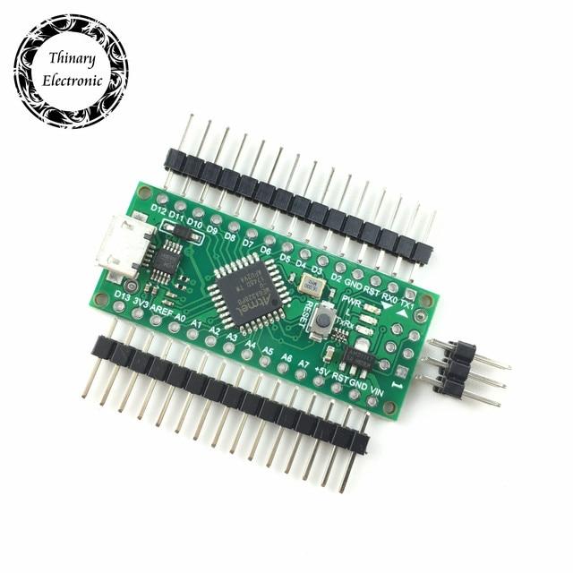 20pcs Nano 3.0 controller compatible with for arduino compatible nano Atmega328 Series CH340 USB driver NO with CABLE NANO V3.0