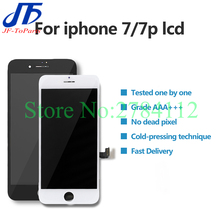10Pcs 100% Tested LCD Display For IPhone 7 Plus 7P 7G Touch Screen With Digitizer Replacement Assembly Parts