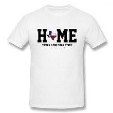 Texas My Home Lone Star State t shirt men Casual Fashion Mens Basic Short Sleeve T-Shirt boy girl hip hop t-shirt top tees