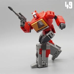 Image 3 - MFT Transformation MF 49 MF49 Blaster Emitter Recorder Model Pocket War MechFans Action Mini Figure Robot Toys 12cm with box
