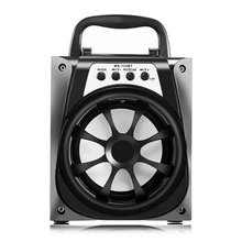 MS-133BT Multifunction Portable High Power Output FM Radio Speaker Stereo Music Wireless Operating Audio Loudspeaker