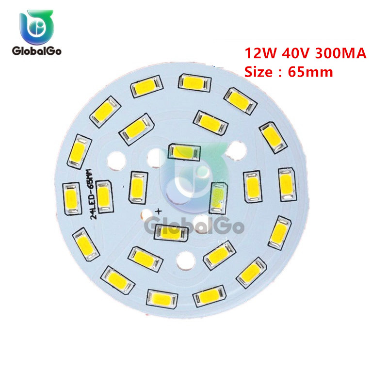 5730 12W 40V 300MA Warm White Light SMD LED 5730 Diodes LED Light Emitting Diode 65mm Highlight LED Panel Light Lamp Board