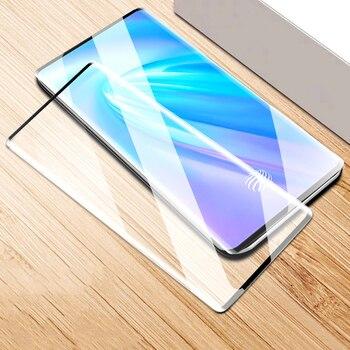 Перейти на Алиэкспресс и купить ДЛЯ vivo NEX 3 3S NEX3 NEX3S 5G 6,89 дюйм9H твердость 3D полное покрытие тонкая закаленная изогнутая Защитная пленка для экрана из закаленного стекла