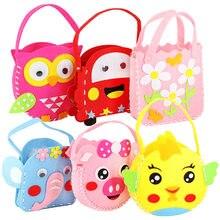 Asilo fatto a mano fai da te colorato borsa fatta a mano giocattoli educativi per l'apprendimento precoce supporti didattici Montessori giocattoli matematici