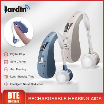 202s akumulator aparaty słuchowe cyfrowe wzmacniacze dźwięku aparaty słuchowe aparaty słuchowe DropShipping najlepsze aparaty słuchowe tanie i dobre opinie jardin J220