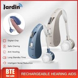 202s recarregável aparelho auditivo amplificadores de som digital aparelhos auditivos aparelhos auditivos dropshipping melhores aparelhos auditivos