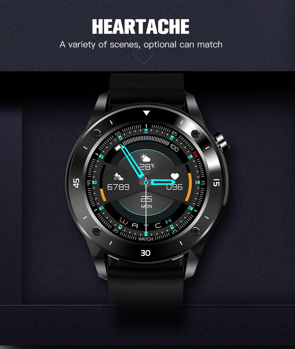 Czjw bluetooth relógios inteligentes homem android fitness