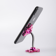 Sucker Stand Phone Holder 360 degree Rotatable Magic Suction Cup Mobile Phone Holder Car Bracket Smartphone Tablets Holder universal rotatable car holder phone stand bracket suction cup