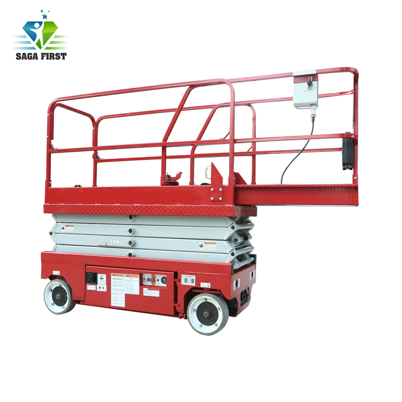 Sinofirst 10m Height Electric Self-propelled Scissor Lift Platform