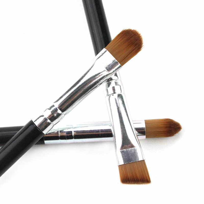 1/3Pcs Make-Up Borstel Cosmetische Penselen Kabuki Gezicht Neus Borstels Concealer Foundation Wenkbrauw Eyeliner Blush Poeder Make-Up Tool