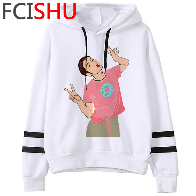 Fashion Charli Damelio Merch Ice Coffee Graphic Hoodies Women Harajuku Ullzang Funny Cartoon Sweatshirt Wimter Warm Hoody Female 4