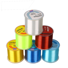 Lure 500M Fishing Line nylon fishing strong line Parallel volumes Multifilament Smooth