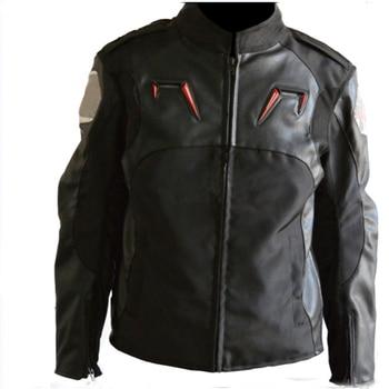 Black Jackets Motorcycle Downhill Bike Off-road Motorbike Men's Moto Race Jacket With Protector