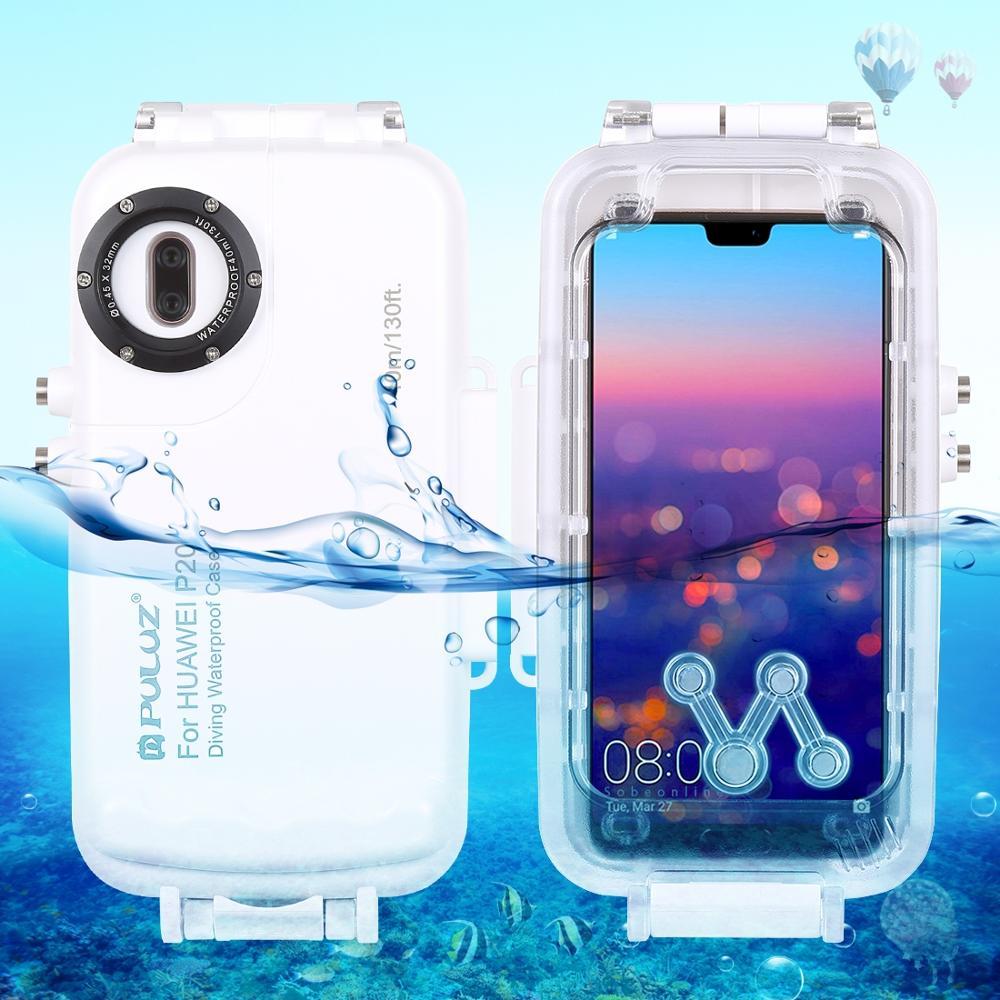Étui pour huawei P20/P20 Pro/Mate 20 Pro housse sous-marine étanche boîtier plongée sac de protection natation Photo vidéo