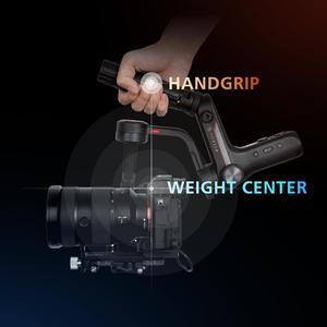 Image 4 - Zhiyun Weebill S, Sony A7M3 Nikon D850 Z7, 300% 향상된 모터와 같은 미러리스 및 DSLR 카메라 용 랩 3 축 짐벌 안정기