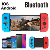 Mando inalámbrico telescópico con Bluetooth para videojuegos, Joystick para PUBG Mobile, artefacto auxiliar esencial, X6