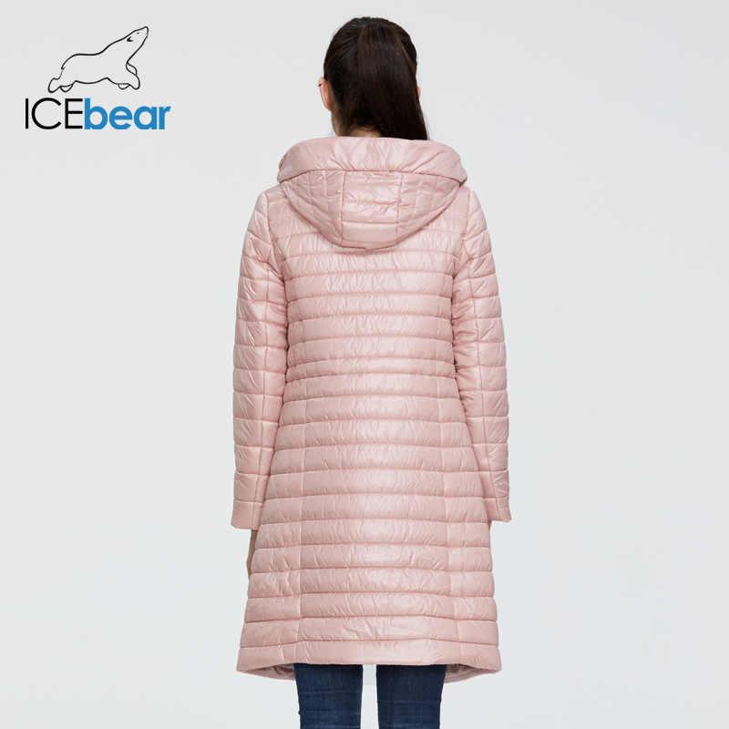 ICEbear 2020 Женская весенняя куртка высококачественная женская куртка  женская куртка с капюшоном модная одежда GWC20702I
