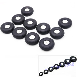 2pcs/lot High elastic rubber wheel for Rc Fixed-wing airplane(diameter 25/32/45/50/55/64/70/76MM ) can for DIY robot tires
