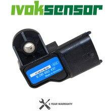 0281002437 yüksek kaliteli Boost MAP sensörü Alfa Romeo 147 156 159 166 için Brera GT Giulietta Mito örümcek Ford Ranger volvo S60 V70