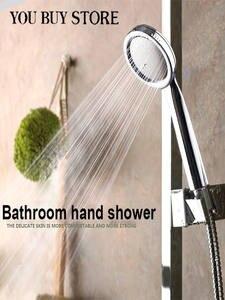 Shower-Head Bathroom-Accessories High-Temperature-Resistance Water-Saving Handheld Abs-Plastic