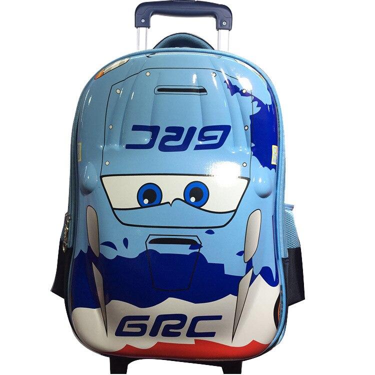 Mochila para niños, mochila escolar para niños, mochila impermeable de alta calidad para la escuela, ropa de mochila resistente a la carga, bolso con ruedas para niños - 6