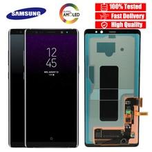 100% SUPER AMOLED 6.3 LCD avec écran LCD  pour SAMSUNG Galaxy Note8 N9500 N950F N900D N900DS LCD écran tactile numériseur
