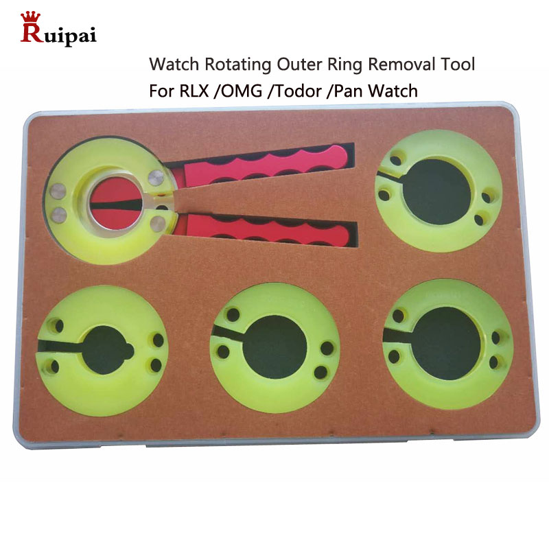 Watch Bezel Removing Plier Watch Rotating Outer Bezels Ring Removal Tool RLX/OMG/PAN