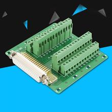 DB50 D-Sub Male/Female Header  Board DIN Rail Mount Interface Module spring terminal block