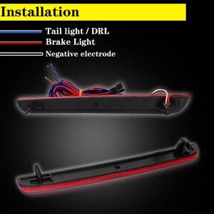 Image 2 - IJDM Kit de phare de pare choc arrière 3D, LED de Style optique, pour Dodge Challenger à 2015, fonction de feux antibrouillard arrière ou arrière