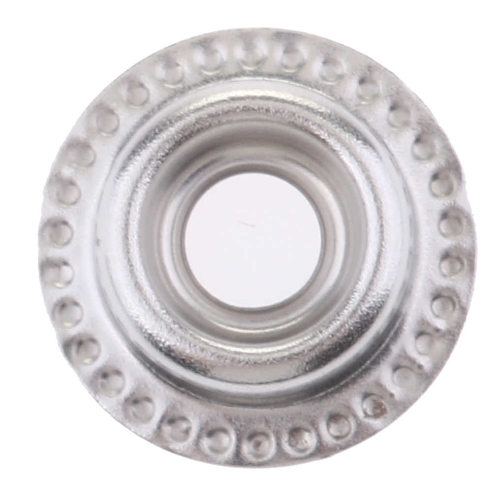 100 шт. нержавеющая сталь пресс-шпильки крепежная кнопка с инструментом, пригодный для шитья Ремесло, обустройство дома