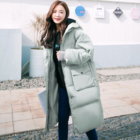 Down Women 2020 Cotton Long Parkas Coat Plus Size Winter Casual Jacket Ladies Padded Thicken Warm Ladies Wadded Outerwear YXR811