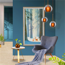 Nordic Led Glass Pendant Lights Bedroom Living Room Hotel Lighting Pendant Lamps Kitchen Fixtures Hanging Lamps Luminaire Avize nordic led acrylic art pendant lights bedroom modrn living room study pendant lamps stair villa lighting fixture luminaire avize